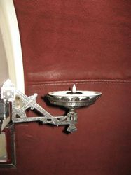 Reproduction Victorian candle holder