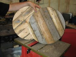 Part two of making a storage wheel
