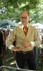 Sharp dressed gentleman Ian Drummond