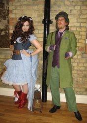 Steampunk Dorothy rocked it!