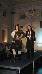Miranda in steampunk hunter wear