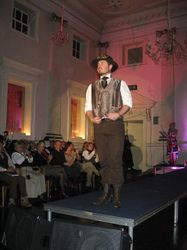 There were a number of fabulous outfits for the men too