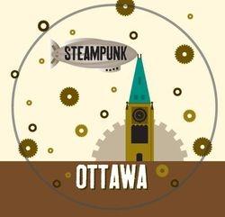 New Steampunk Ottawa Button
