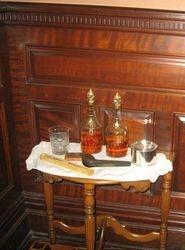 In castle smoking room