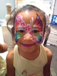 Flower-fly Mask Face Paint