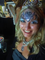 Monster Mash Fairy Tale Bash CHOA Queen Face Painting