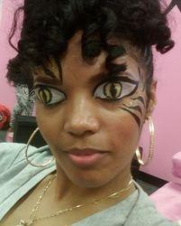 Rashida Tiger Eyes FIERCE!