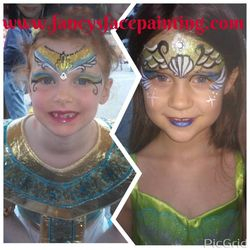 Costume matching Mermaid and Egyptian
