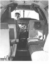 CW2 Clark Wilson in U-21 aircraft