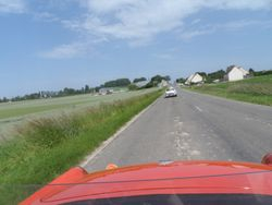 On the run back to Laon