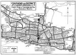 Bus Routes 1960