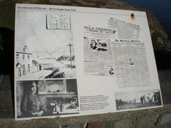 History Board telling what happened.. if you can zoom in you might be able to read it.
