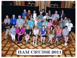Ham Cruise 2011 Group