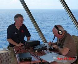W5UQ (Bob) and K6FG (Mark)