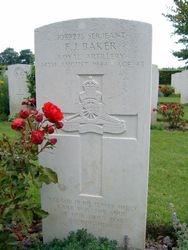 Serjeant Frederick John Baker Grave