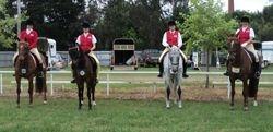 Members riding at Euroa Ag Show
