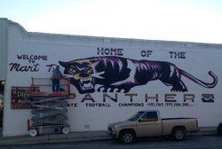 Panther Mural