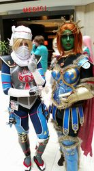 Shiek and Ganondorf