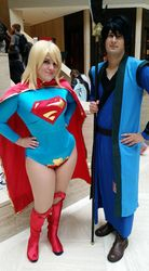 Supergirl and Friend