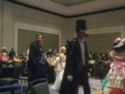 Tuxedo Mask at the Anime Ball
