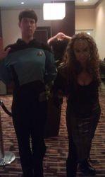 Vulcan and Klingon