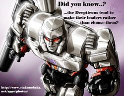 Did You Know Decepticon Leaders Created?