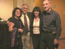 Enza, Louis Falco, Marie Moscato  and Dino