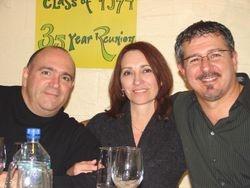 Mike, Gail and Eddie