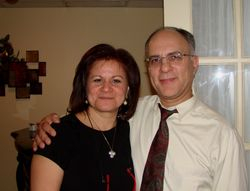 Enza and buddy  Louis Falco