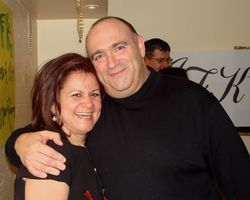 Enza and brother Mike