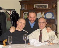 Sam, Ralph and Louis Falco