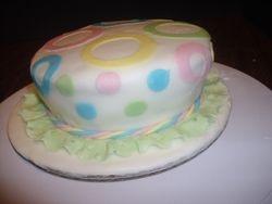 Little circle hat cake