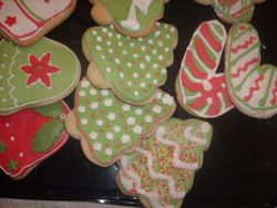 Christmas Cookies by Christine