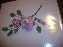 Gumpaste Rose Spray