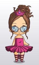 Talia when she did Ballet
