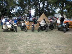 6 Bikes all of Military Heritage