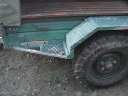 Mortar Trailer