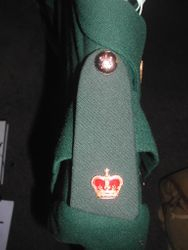 WRAC Shoulder Board