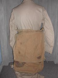 Flightsuit with partial Parachute Pack