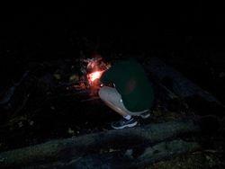 Lighting the Evening Fire