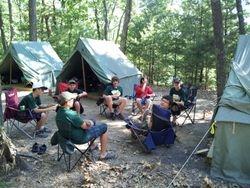 Hanging Around at  Camp 1