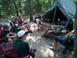 Hanging Around at  Camp 2