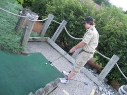 Fun at the golf course