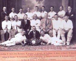 Nationals Cricket Club Townsville 1938