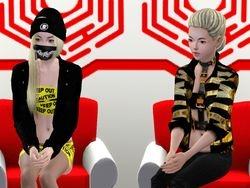 Yui and Tamae on Hotspot seoul