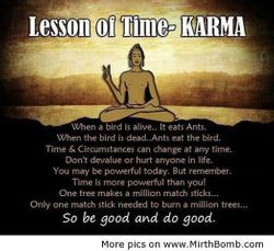 Lesson Of The Karma