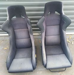 Fixed Back Seats and Rails AE86