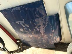 Damaged AE86 Trueno Bonnet