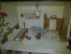 60s bungalow bedroom