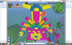 Miles's Aztec Temple or something idk what its supposed to be called
